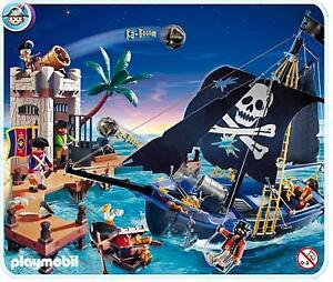 - PLAYMOBIL : Château Chevalier, bateau pirate