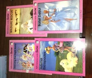 Adventures with Barbie chapter books for sale