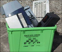 DO YOU HAVE ANY OLD E-WASTE BROKE OR COLLECTING DUST?