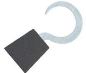 QuicKutz TWO 2 x 2 PIRATE HOOK metal cutting dies - $4