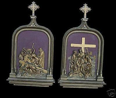 Stations of The Cross Set: Christianity | eBay