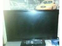 """Login 24"""" led full hd 1080 built in freeview and dvd remote"""