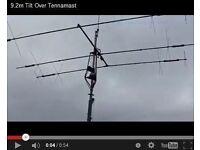 Tilt Over Antenna Mast