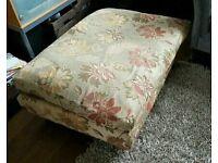 Laura Ashley extra large footstool ottoman