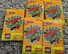 LEGO Create The World Card Packs x10