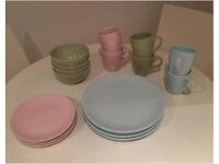 Pastel Dinnerware / Crockery Set