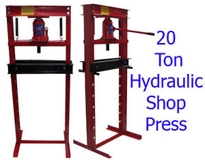20 Ton Hydraulic Shop Press Floor Press H Frame *** Free Shipping ***