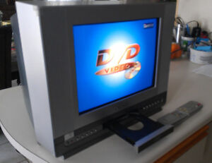 "14"" Television with DVD Combo"