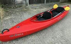 Double or 2x single kayaks