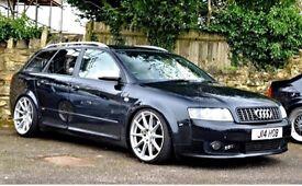 Audi A4 Quattro 300 bhp modified