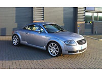 AUDI TT 1.8T 225 COUPE STAGE 2 265BHP FAST!! AVUS/BLACK LEATHER