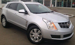 Flex Fuel 2012 Cadillac SRX4 awd Luxury collection with hitch