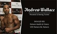 Boxing & Personal Training Malvern Stonnington Area Preview