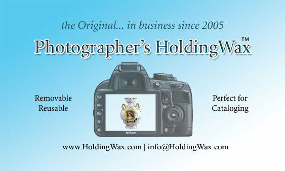 Positioning Wax for Product PHOTOGRAPHY and Displays