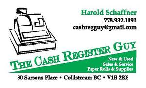 New and Used Cash Registers for Sale - North Okanagan