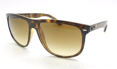 Ray Ban RB 4147 710/51 Havana Brown Gradient Authentic Sunglasses Glass (Ray Ban Rb4147 710 51)