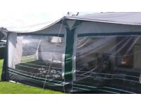 20ft or 1080cm green awning