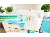 Selling a husqvarna viking hclass 600e sewing machine/embroidery machine