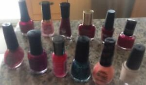 **12 BOTTLES OF NAIL POLISH FOR SALE**
