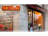 Wine Sale Advisor Opportunities across London at Nicolas UK/Spirited Wines