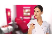 Salon receptionist wanted, starting from £8.50/hr +bonus