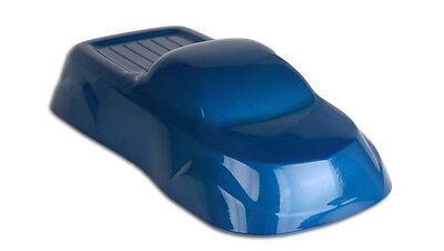 Powder Coating Paint Blue Transparent 1lb .45kg