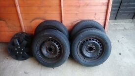 BMW Winter Wheels set of 4