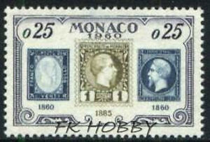 Monaco 1960 Mi 641 ** 75 years of a Postage Stamp in Monaco Briefmarken - Dabrowa, Polska - Monaco 1960 Mi 641 ** 75 years of a Postage Stamp in Monaco Briefmarken - Dabrowa, Polska