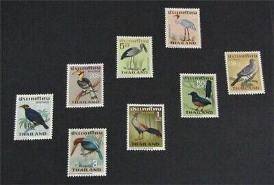 nystamps Thailand Stamp # 469-476 Mint OG NH $86   L23y1180