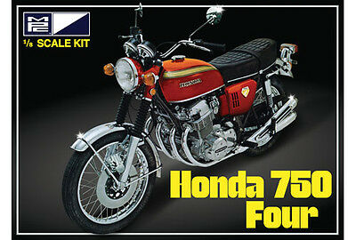 MPC 1:8 Honda 750 Four Motorcycle Plastic Model Kit MPC827