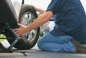 Winter tire change / installation / rotation for ONLY $39.99