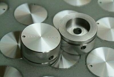1pcs 30mmx16mm Solid Aluminum Home Vintage Amplifier Audio Rotary Volume Knob