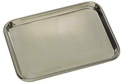 14 X 9 Metal Tray Instruments Dental Tattoo Surgical Supplies Stainless Steel