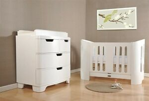 WHITE BLOOM LUXO CRIB AND DRESSER-INCLUDING SHIPPING!!!!