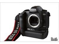 Canon 5d mk2 full frame with grip boxed