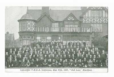 "BLACKPOOL ""Red Lees"" House J. Heap Hornby Road - Park Road YMCA Conference 1907"