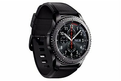 Samsung Gear S3 Frontier 4GB Bluetooth WiFi NFC GPS R760 Smartwatch - NEGRO