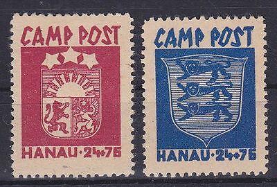 Camp Post Hanau Lot **, Dt. Besetzung WW II, postfrisch, MNH
