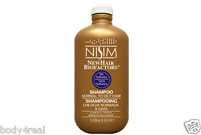 NISIM HAIR LOSS MENS WOMENS SHAMPOO SLS FREE  LARGE LITRE BEST FOR OILY (Best Hair Shampoo For Oily Scalp)
