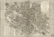 Large Paris Map