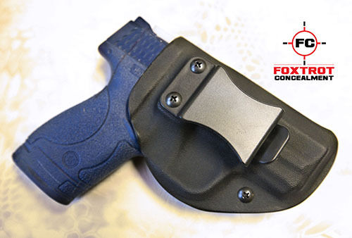 Kydex Holster fits Smith & Wesson M&P SHIELD  9mm /.40 IWB R