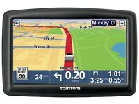 Tomtom xxl Classic with uk&European maps charger/holder