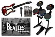 Beatles Wii Rock Band Guitar
