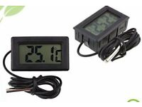 Hydroponics Small Digital Thermometer and Temperature