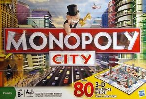 Monopoly City board game