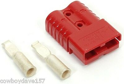Anderson Sb120 Connector Kit Red 4 Awg 6802g2 Includes Domestic Shipping