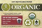 White Organic Coffee Pods & K-Cups