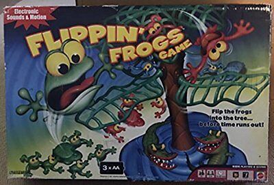 FLIPPIN' FROGS GAME MATTEL  2007 MATTEL (SEE DESCRIPTION)