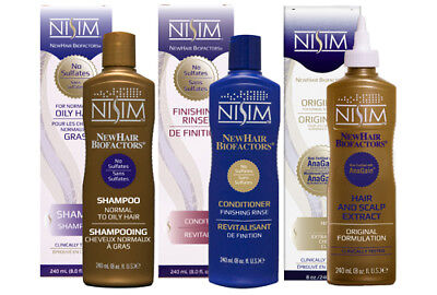 NISIM Hair Loss Treatment Balding Thinning Men Women Regrow Best for OILY