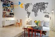 Removable Wall Stickers Words